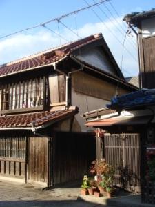 """Maison et toiture \""""bleue\"""""""