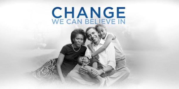 Change, we can believe in