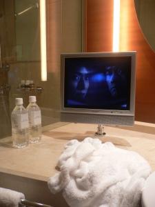 Drama dans une salle de bain du Grand Hyatt Tokyo