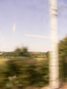 TGV & paysage