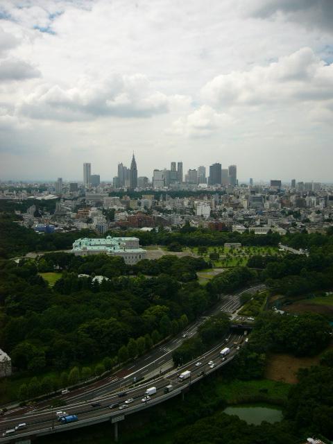 Shinjuku au lointain...