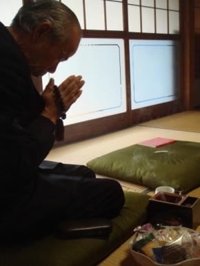 Kyou ojiisan ga shinimashita…….